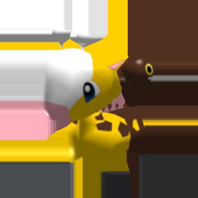 Sprite de Girafarig - Pokémon Rumble Rush