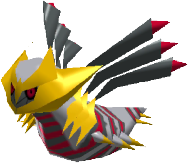Sprite de Giratina (Originelle) - Pokémon Rumble Rush