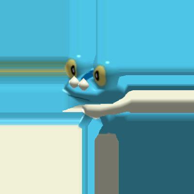 Fiche Pokédex de Grenousse Pokémon Rumble Rush