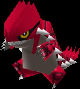 Sprite de Groudon - Pokémon Rumble Rush