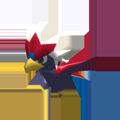 Fiche Pokédex de Gueriaigle Pokémon Rumble Rush