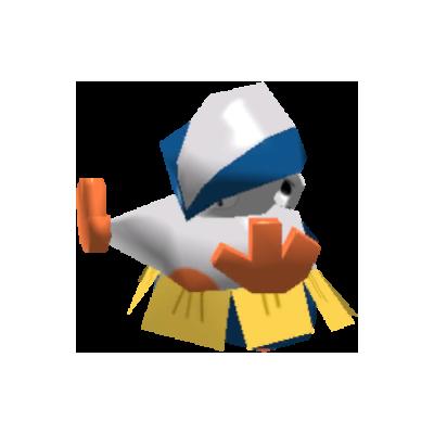 Sprite de Hariyama - Pokémon Rumble Rush