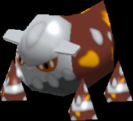 Fiche Pokédex de Heatran Pokémon Rumble Rush