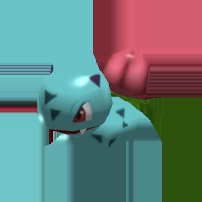 Sprite de Herbizarre - Pokémon Rumble Rush