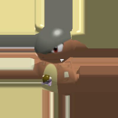 Sprite de Kangourex - Pokémon Rumble Rush