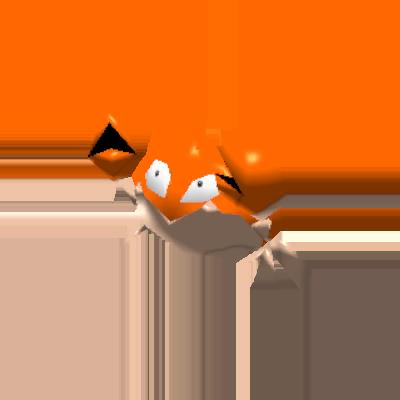 Sprite de Krabby - Pokémon Rumble Rush