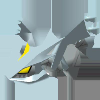 Sprite de Kyurem - Pokémon Rumble Rush