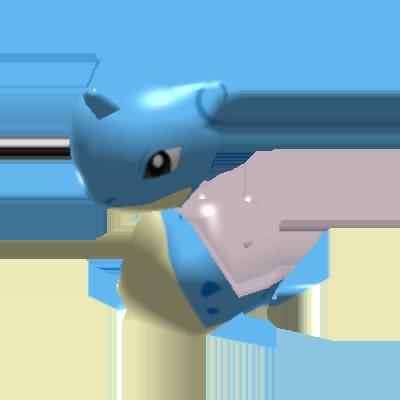 Sprite de Lokhlass - Pokémon Rumble Rush