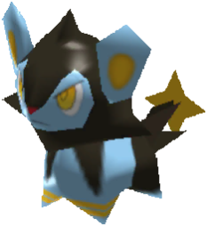 Sprite de Luxio - Pokémon Rumble Rush