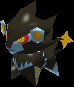Sprite de Luxray - Pokémon Rumble Rush
