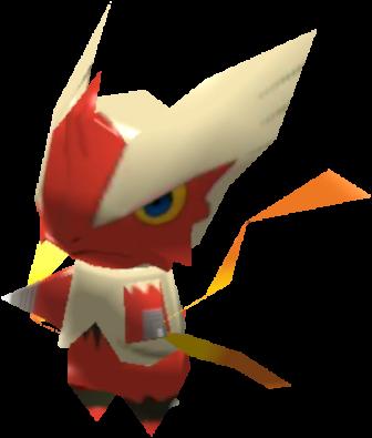Sprite de Méga-Braségali - Pokémon Rumble Rush