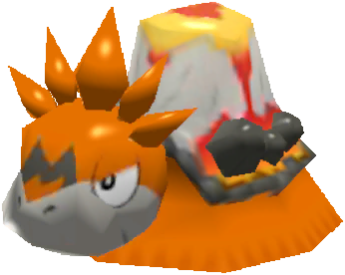 Sprite de Méga-Camérupt - Pokémon Rumble Rush