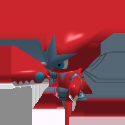 Sprite de Méga-Cizayox - Pokémon Rumble Rush
