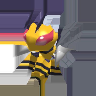 Sprite de Méga-Dardargnan - Pokémon Rumble Rush