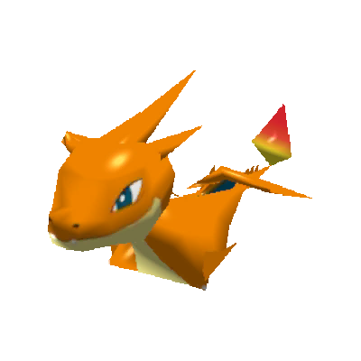 Sprite de Méga-Dracaufeu Y - Pokémon Rumble Rush