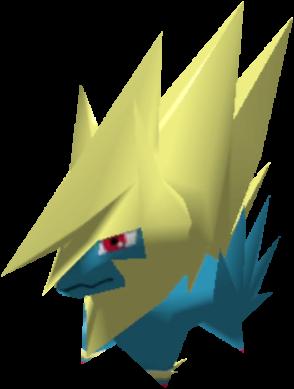 Fiche Pokédex de Méga-Élecsprint Pokémon Rumble Rush