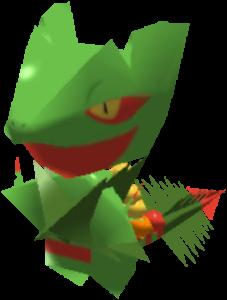 Sprite de Méga-Jungko - Pokémon Rumble Rush