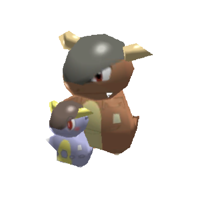 Sprite de Méga-Kangourex - Pokémon Rumble Rush