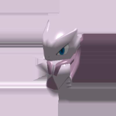 Fiche Pokédex de Méga-Mewtwo X Pokémon Rumble Rush