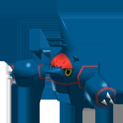 Sprite de Méga-Scarhino - Pokémon Rumble Rush