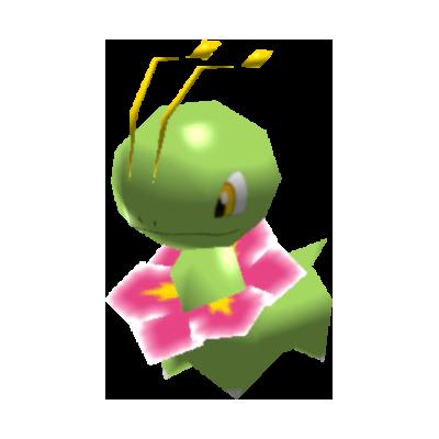 Sprite de Méganium - Pokémon Rumble Rush