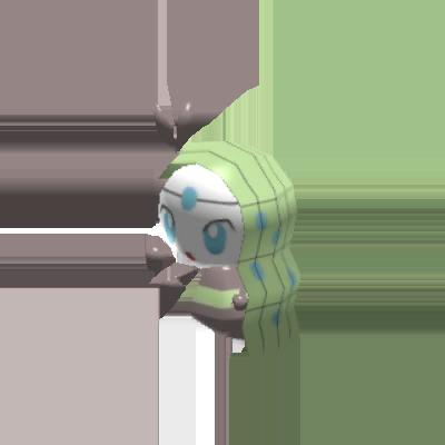 Fiche Pokédex de Meloetta (Chant) Pokémon Rumble Rush