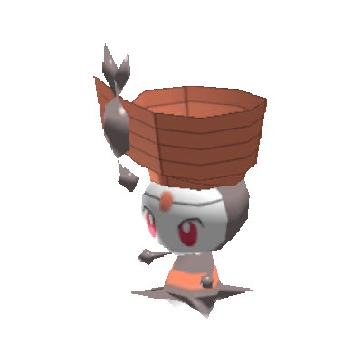 Sprite de Meloetta (Danse) - Pokémon Rumble Rush