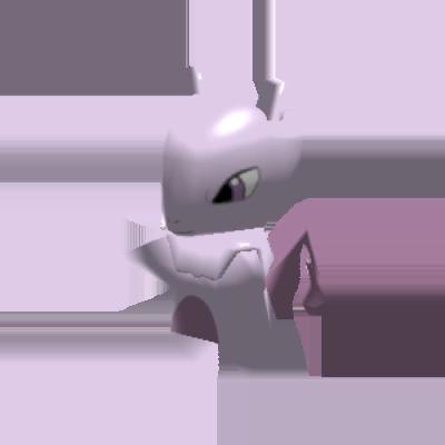 Fiche Pokédex de Mewtwo Pokémon Rumble Rush