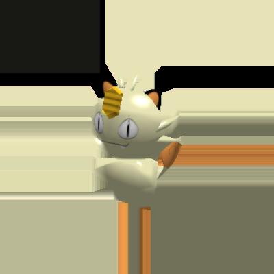 Sprite de Miaouss - Pokémon Rumble Rush