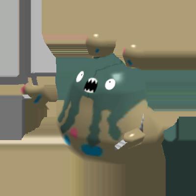Sprite de Miasmax - Pokémon Rumble Rush