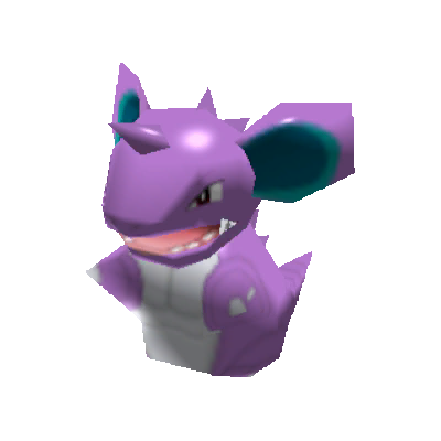 Sprite de Nidoking - Pokémon Rumble Rush