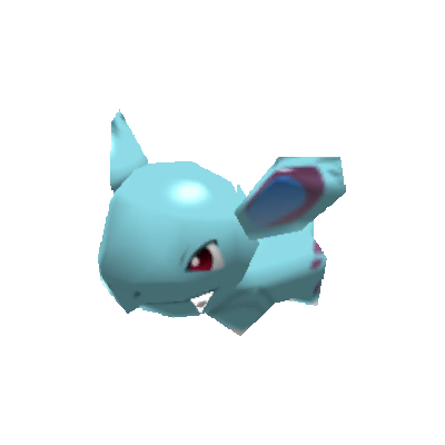 Sprite de Nidorina - Pokémon Rumble Rush