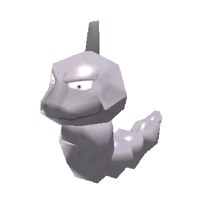 Sprite de Onix - Pokémon Rumble Rush