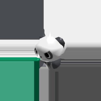 Sprite de Pandespiègle - Pokémon Rumble Rush