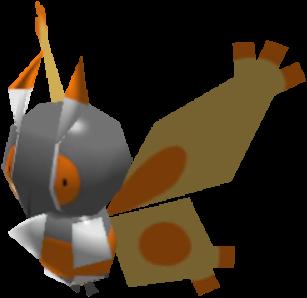 Fiche Pokédex de Papilord Pokémon Rumble Rush