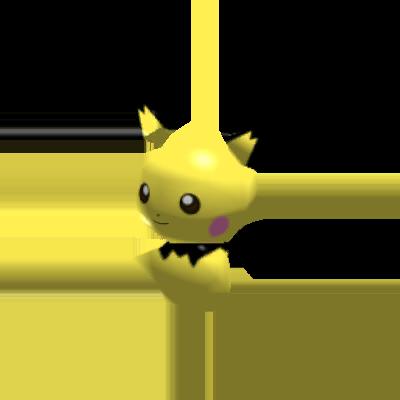 Sprite de Pichu - Pokémon Rumble Rush
