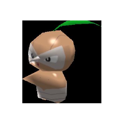 Sprite de Pifeuil - Pokémon Rumble Rush