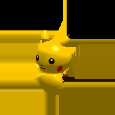 Sprite de Pikachu - Pokémon Rumble Rush