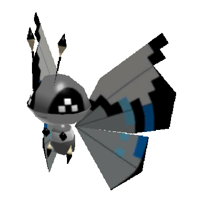 Sprite de Prismillon (Motif Cyclone) - Pokémon Rumble Rush
