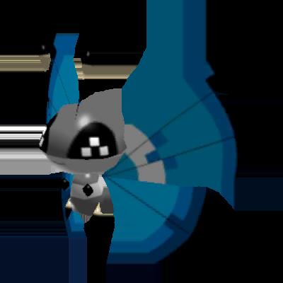 Sprite de Prismillon (Motif Rivage) - Pokémon Rumble Rush