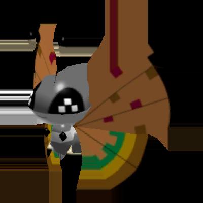 Sprite de Prismillon (Motif Sécheresse) - Pokémon Rumble Rush