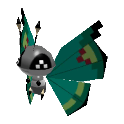 Sprite de Prismillon (Motif Verdure) - Pokémon Rumble Rush