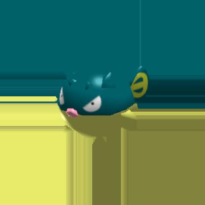 Fiche Pokédex de Qwilfish Pokémon Rumble Rush