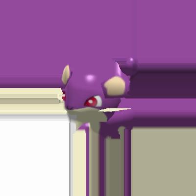 Sprite de Rattata - Pokémon Rumble Rush