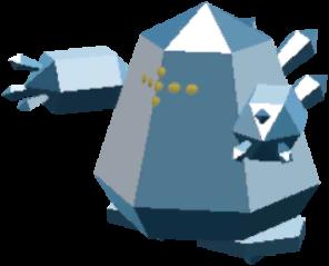 Fiche Pokédex de Regice Pokémon Rumble Rush