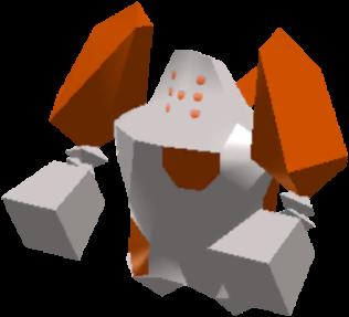 Fiche Pokédex de Regirock Pokémon Rumble Rush