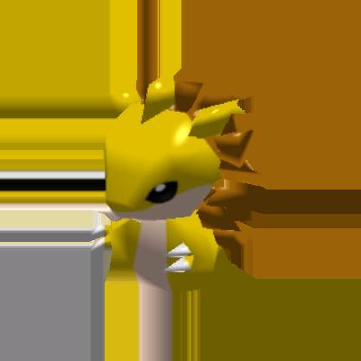 Sprite de Sablaireau - Pokémon Rumble Rush