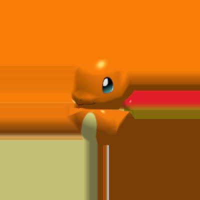 Sprite de Salamèche - Pokémon Rumble Rush