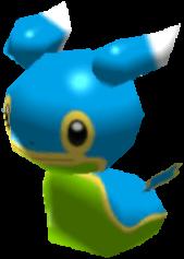 Fiche Pokédex de Sancoki (Mer Orient) Pokémon Rumble Rush