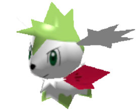 Sprite de Shaymin (Céleste) - Pokémon Rumble Rush